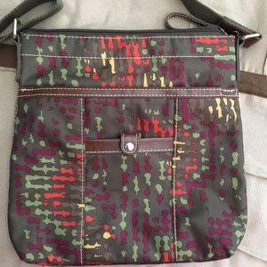 NWOT Nine West Crossbody Bag Purse Green Multicolo